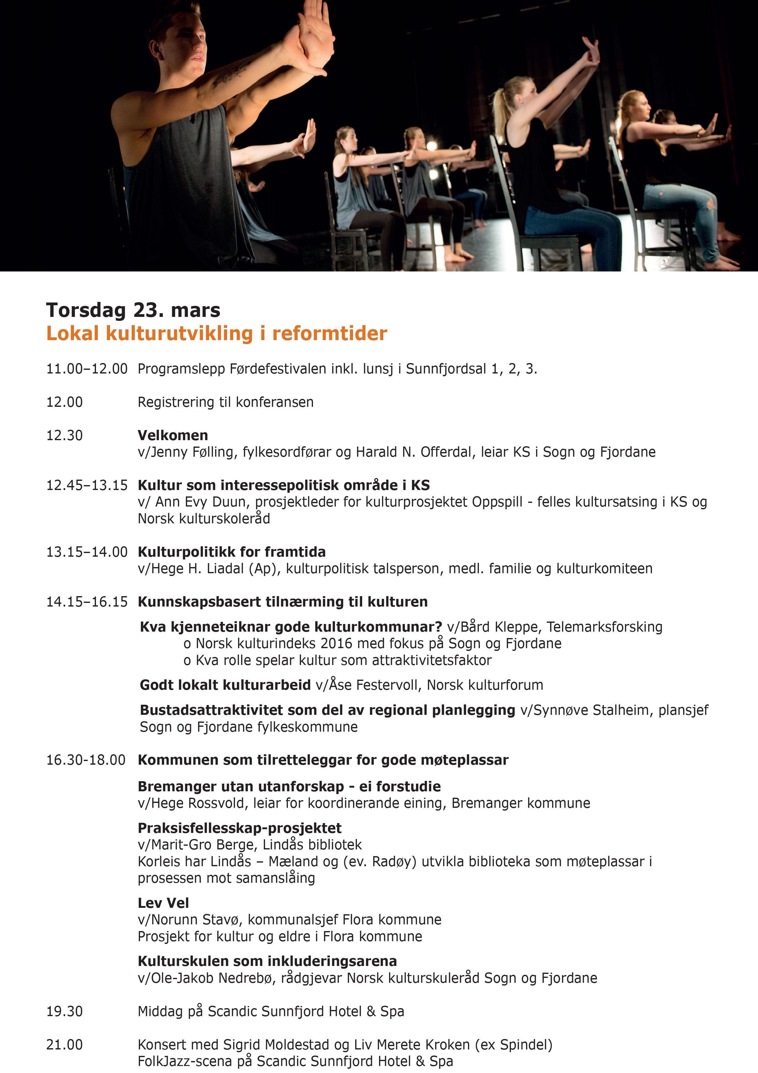 Program_kulturkonferansen 2017_torsdag 23.03