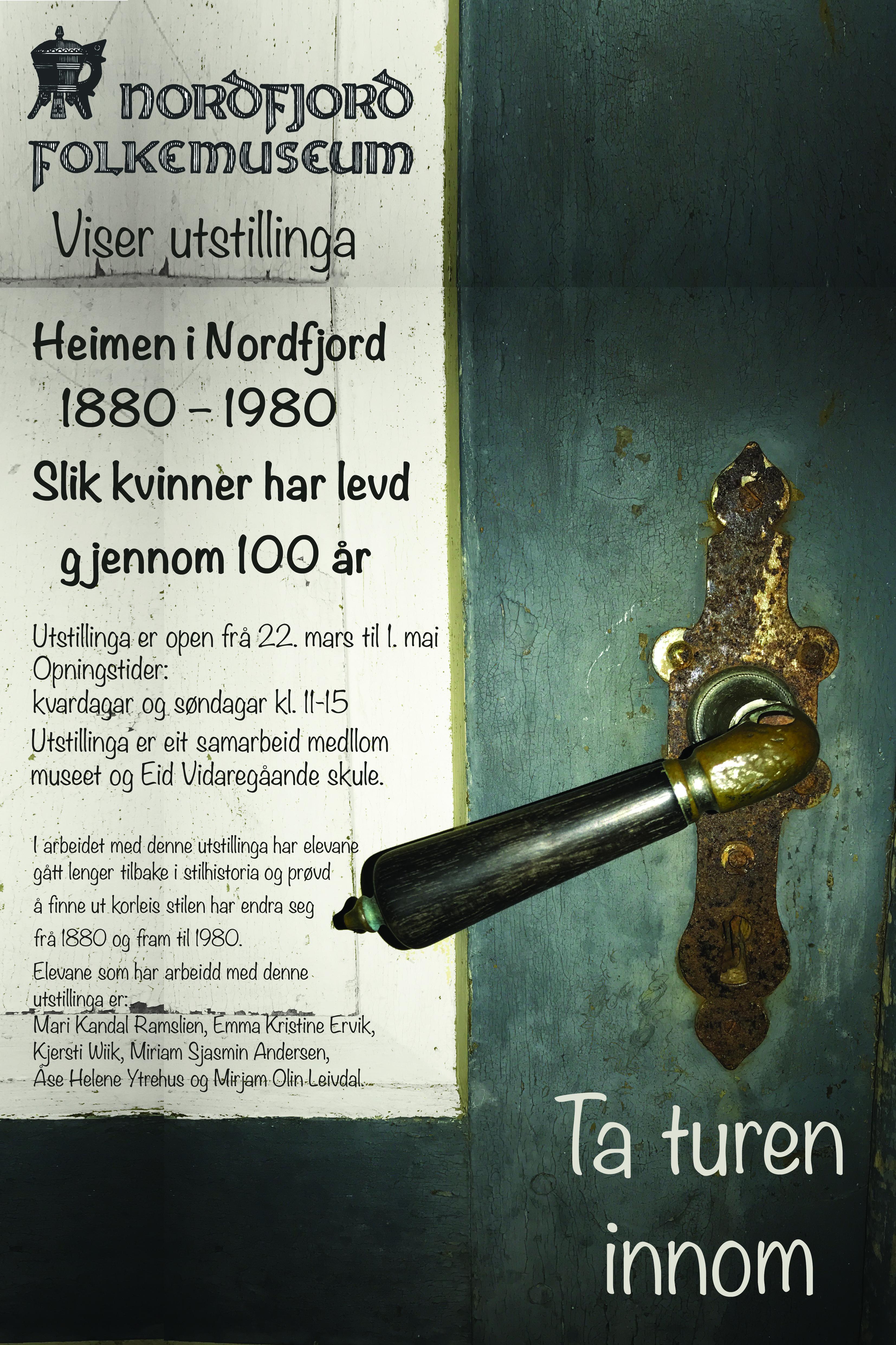 Utstiling ved Nordfjord Folkemuseum
