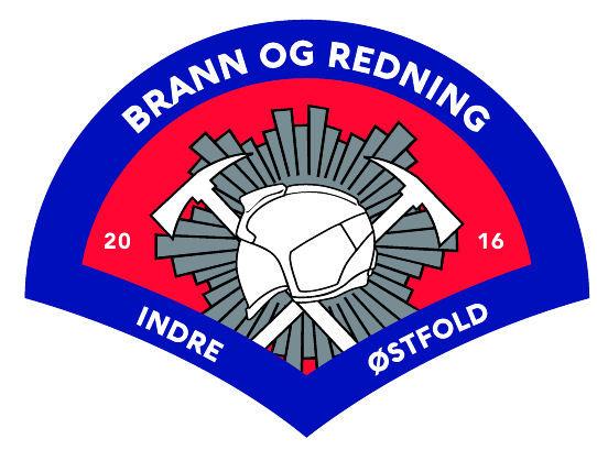 Logo Indre Østfold brann og redning