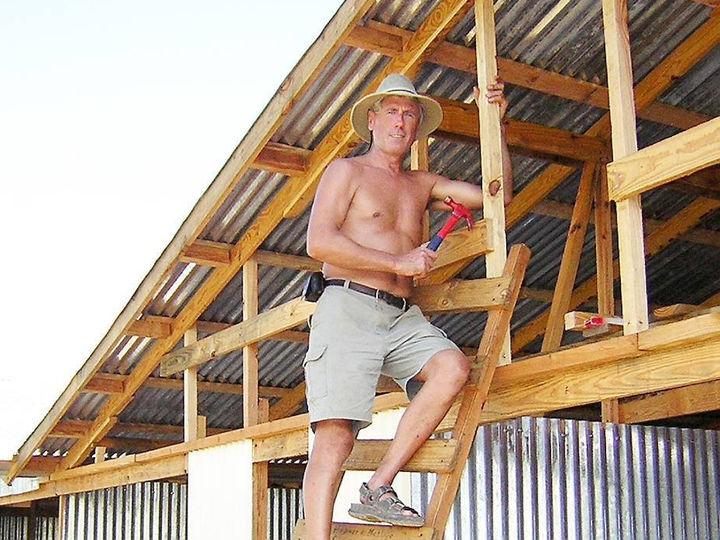 Ole Stenbakk på Haiti