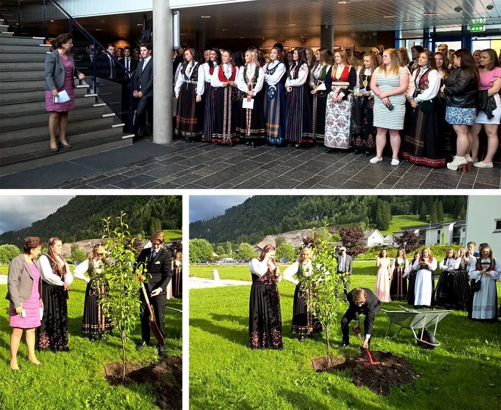 Fest for avgangselevane ved Hafstad vgs 12 juni 2017, foto Mona Fossdal