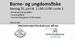 Annonse barne- og ungdomsfiske i sone 3 250617