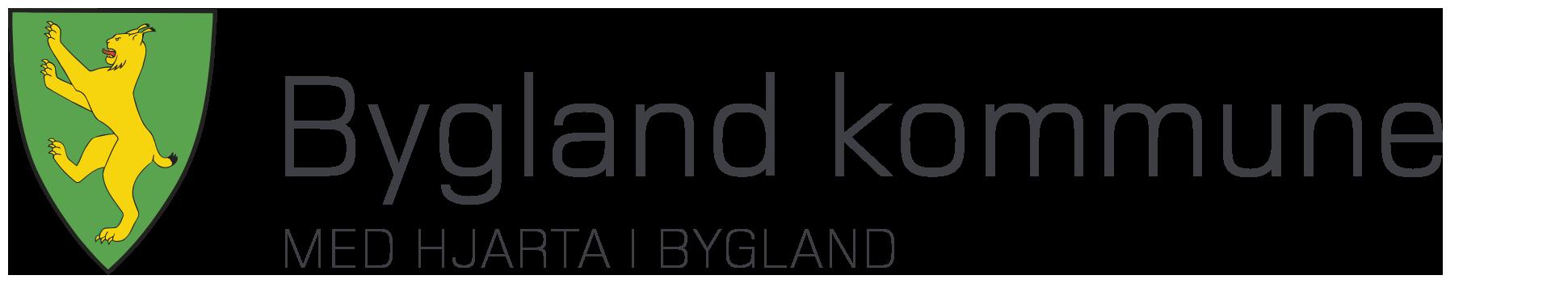 Bygland kommune sitt kommunevåpen