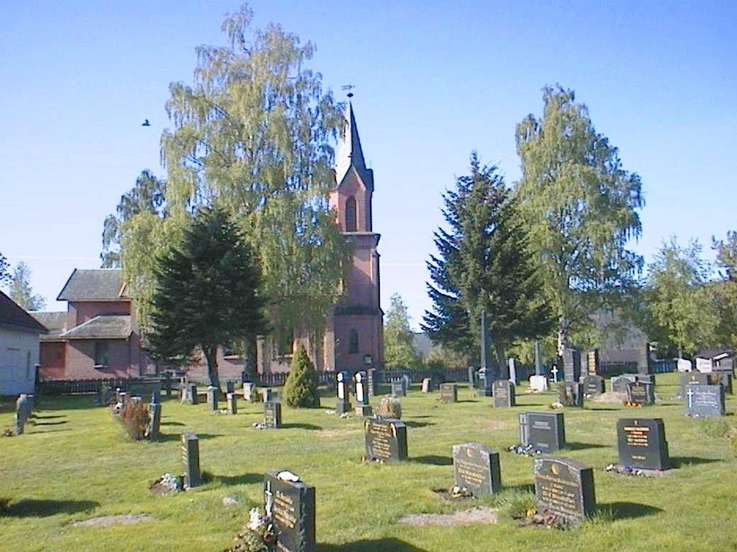Snarum kirkegård