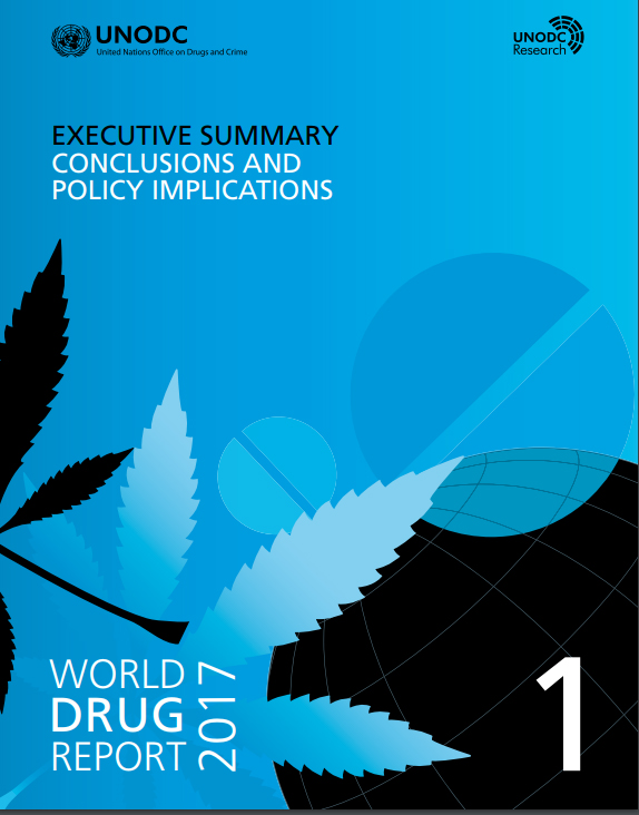 Front page World Drug Report 2017 - book 1.jpg