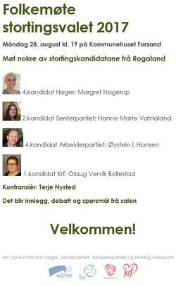 Valgmøte 2017 annonse