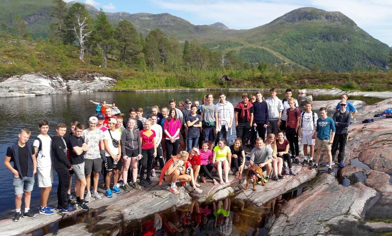 Tur til badedammen på Tverrfjellet Foto: Per Ingebrigt Karbø