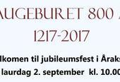 Haugeburet 800 år - jubileum