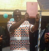 Muluzi holding NAP