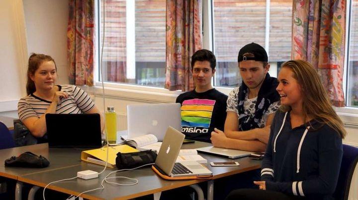 Unge grundarar   Foto: Fjordingen
