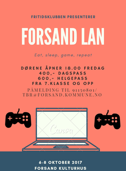 Fritidsklubben LAN 2017 hostferie