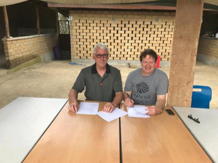 Underskriving av avtale