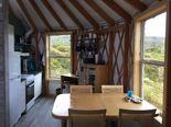 Innside The Yurt