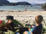 Summer at Rebbenesøya