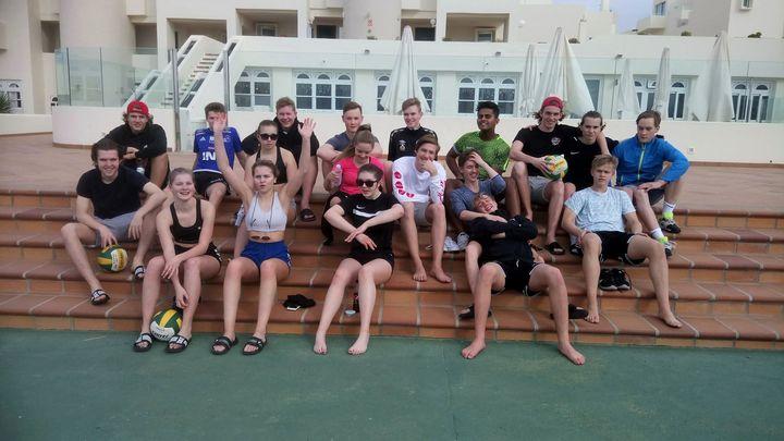 2IDA på treningstur til Lanzarote