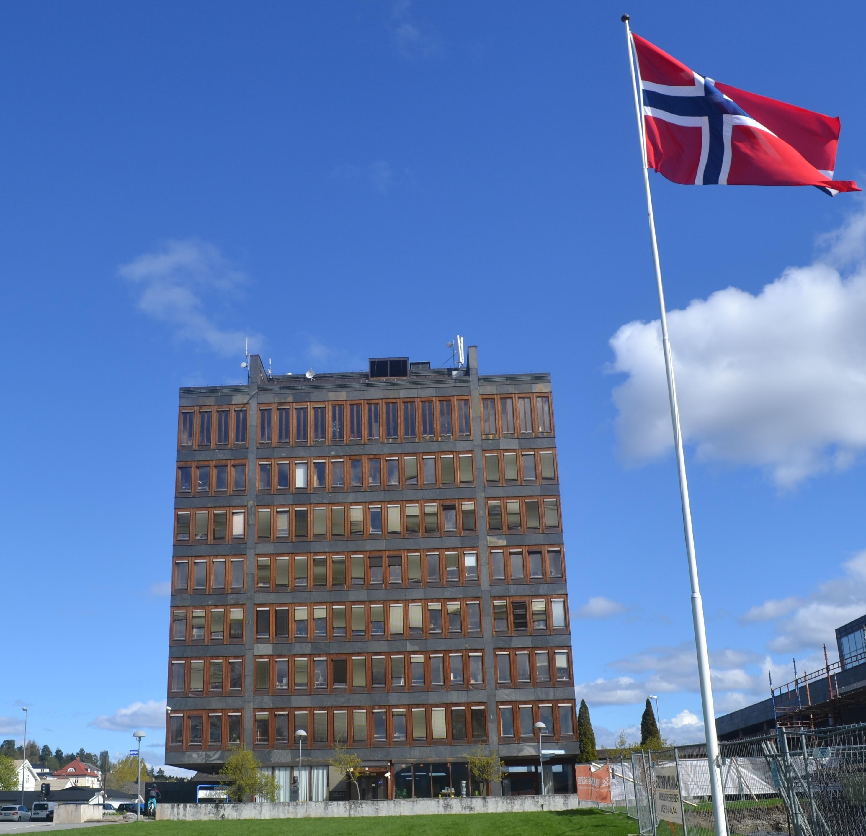 Rådhuset med flagg.jpg