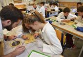 laboratoire science at school