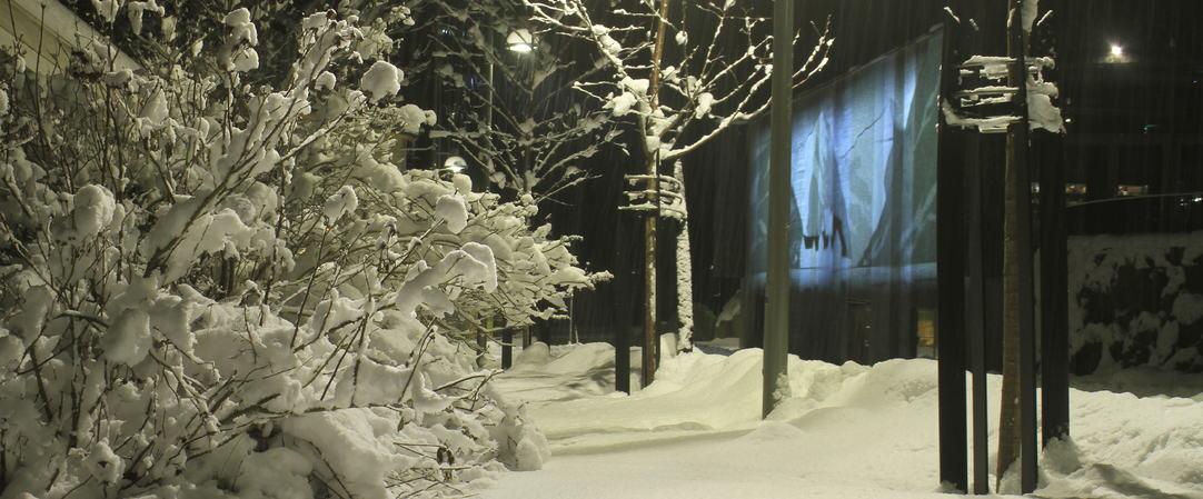 snø i holmen