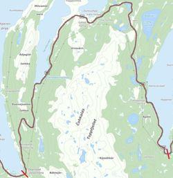 Planområde - Kart