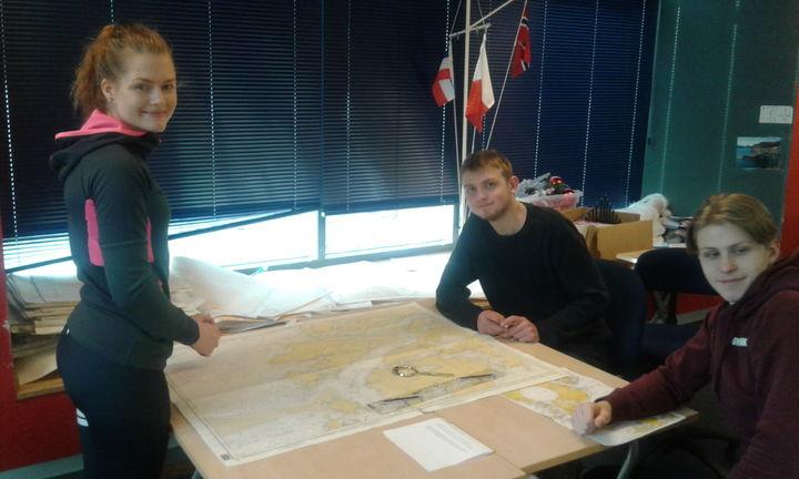 Kartarbeid og seglingsplan