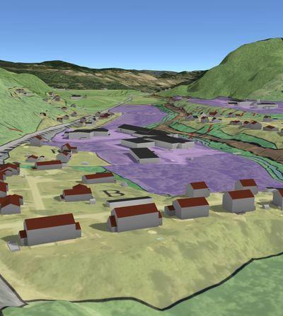 Illustrasjonsbilde: Plandata i Kommunekart 3D