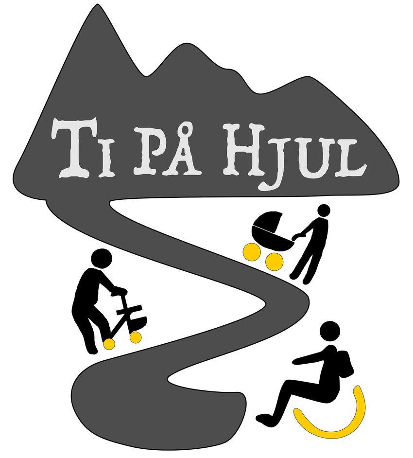 Logo til Ti på hjul