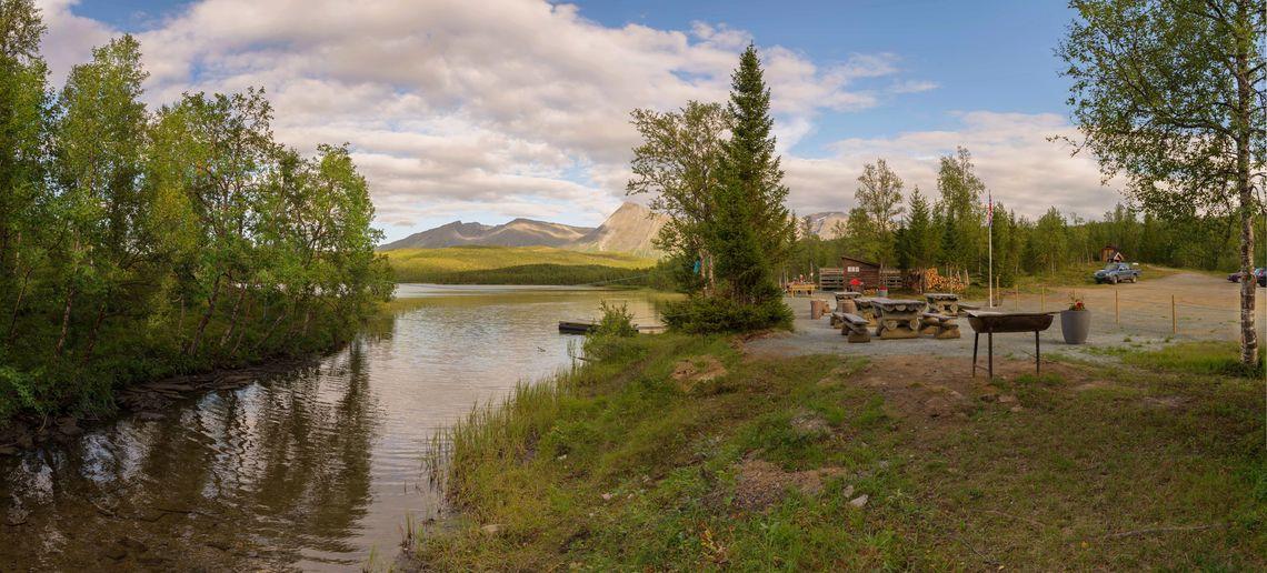 Juksavatn, et av Balsfjord kommune sine statlig sikra friluftsområder. Foto: Geir Arne Simonsen.