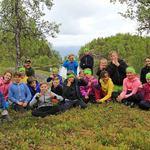 Friluftsskole Lyngen  2017_gruppebilde__Tine Marie Hagelin