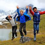 Friluftsskole Storfjord _hoppende glade gutter 2017 _Tine Marie Hagelin