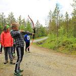 Friluftsskole Balsfjord 2017_bueskyting_Tine Marie Hagelin