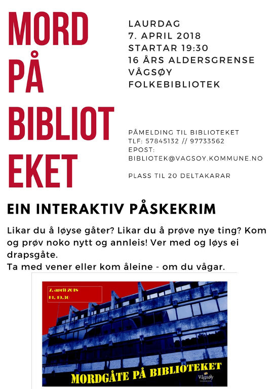 MORDGÅTE biblioteket 1024