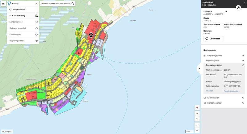 KommunekartKarlsøy