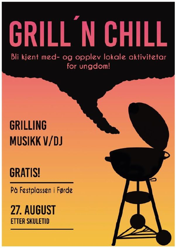 forside Grill and chill