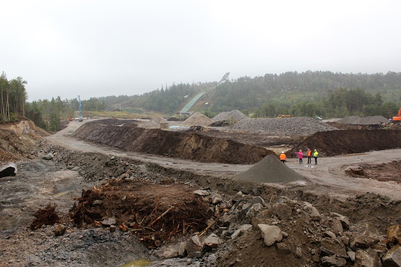 Oversikt over Sandripheia-utbyggingen