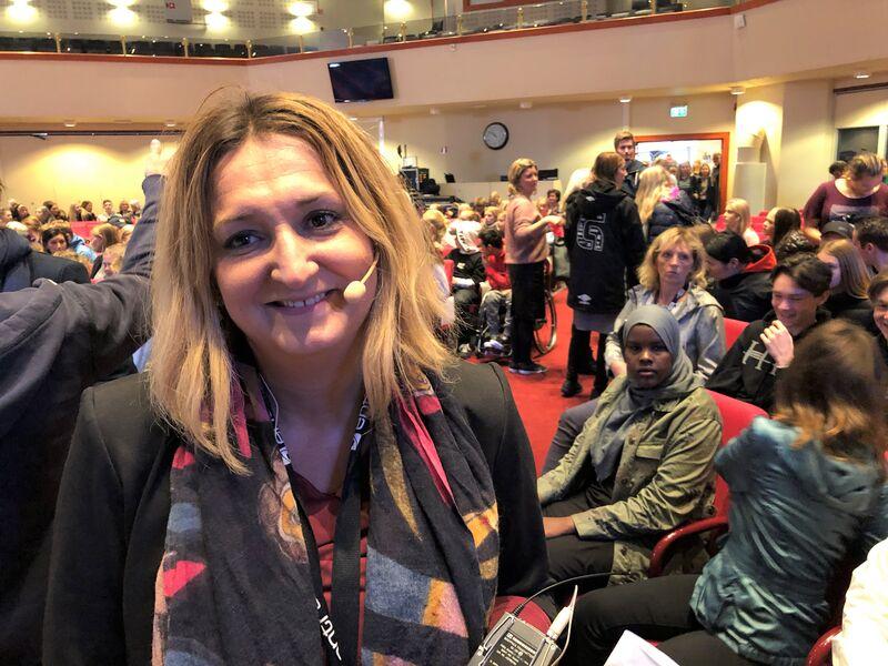 Indira Derviskadic er SLT-koordinator i Vennesla kommune