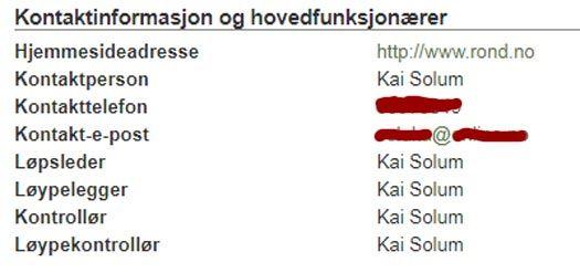 En sentral ildsjel med mange funksjoner i forbindelse med Rondslitet 2018. Grafikk: Eventor.no/OPN.no.