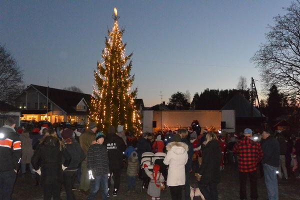 Julegranbilde tatt av grenseland.eu