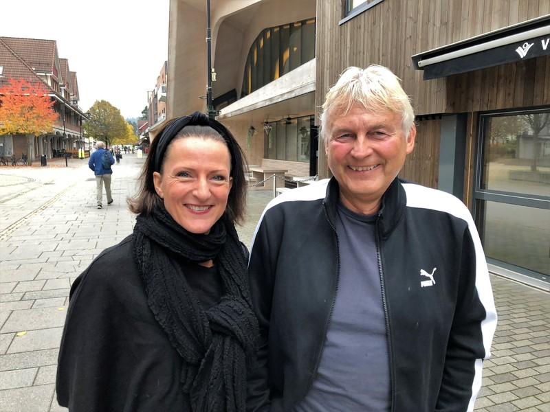 bilde av  Mette Sjølkvist og Jan Gerdhard Stømne