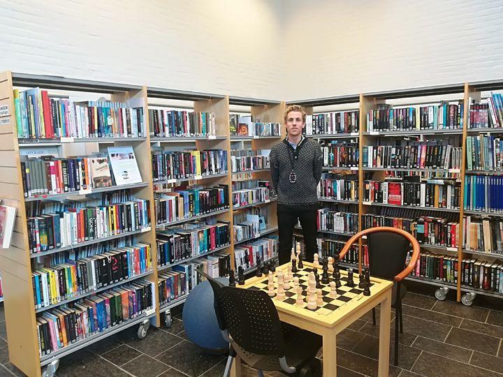 Biblioteks- og informasjonsarbeider Anders Ekelund