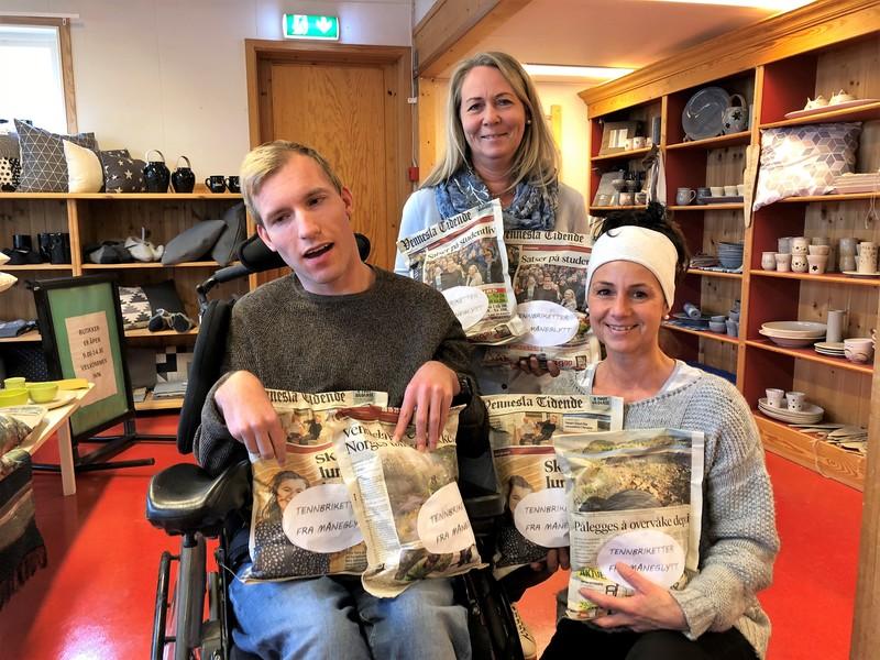 Kjetil Aamdal, Bjørg Arntsen og Nina Abel,