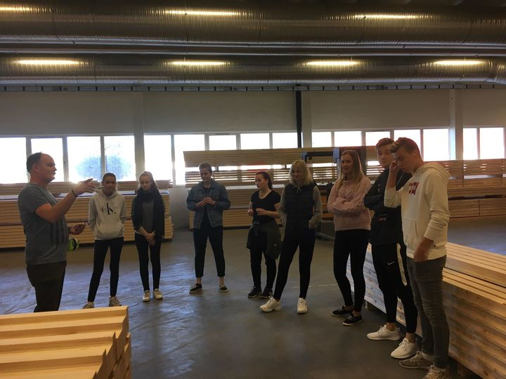 Bedriftsbesøk på Norgesvinduet Bjørlo