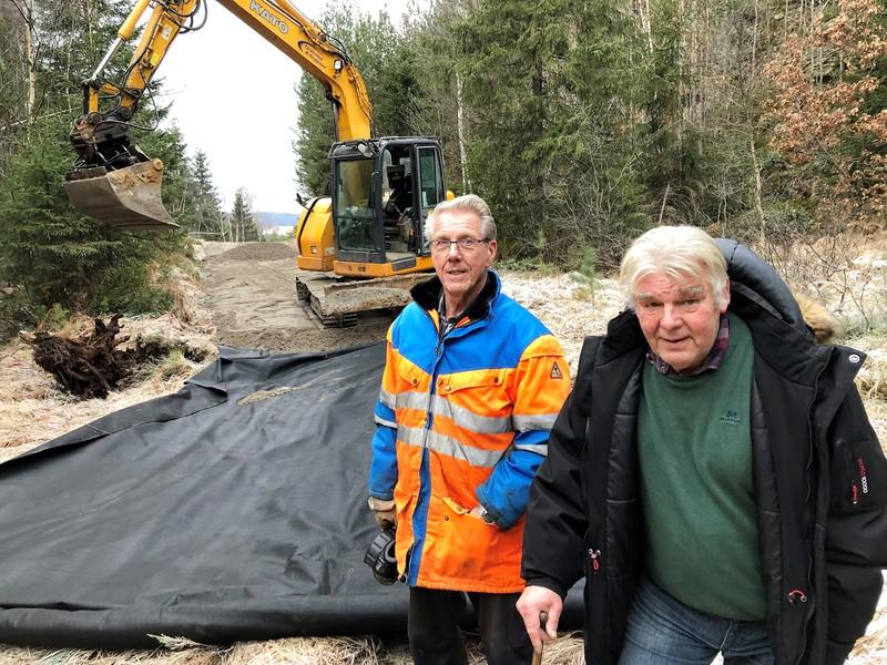Asbjørn Verås og Jürgen Orf