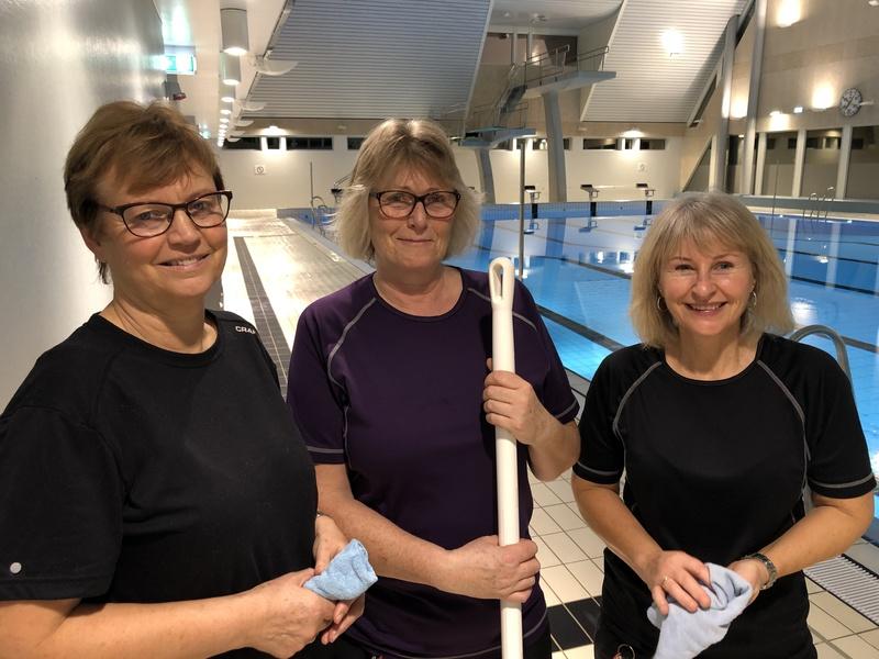 Bilde av Grete sttrandberg, Ann-Kristin Madsen og Marlyn Lauvsland