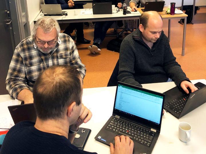 Byggfaglærerne som deltok på kurset ser frem til å kunne ta i bruk KS Online i undervisningen.