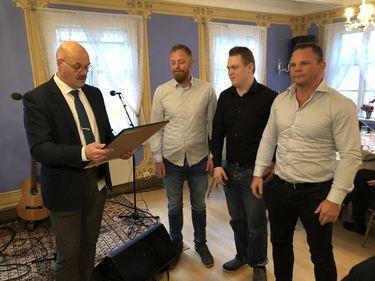 Betonorte ved Sigmund Lunden, Thomas Ellingsen og Inge Paulsen