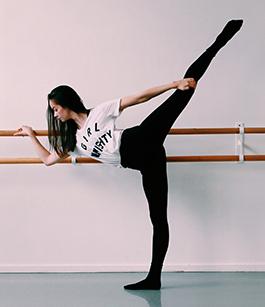 Ingrid Johansen, tidlegare elev ved danselinja