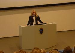 P1010563 Lise Sannerud direktør KDI - utsnitt