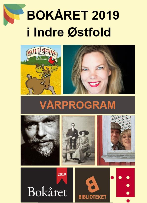 Bokåret program forside