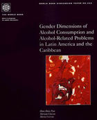 Front page WHO Gender and alcohol in Latin America