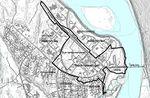 Kartskisse som viser planområdet